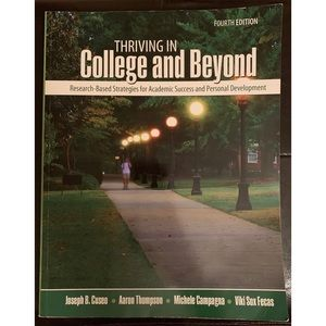 Other - Thriving in College and Beyond Textbook